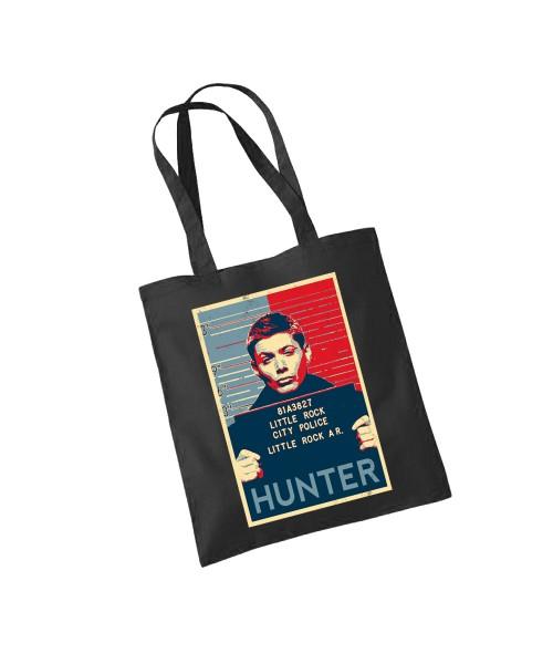 -- Hunter -- Baumwolltasche