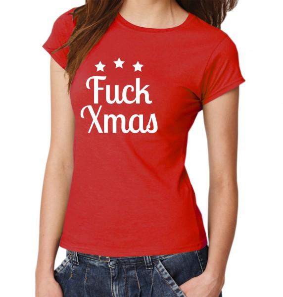 ::: FUCK XMAS ::: T-Shirt Damen