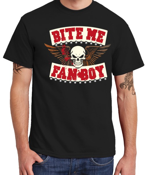 -- BITE Me FANBOY -- Boys T-Shirt