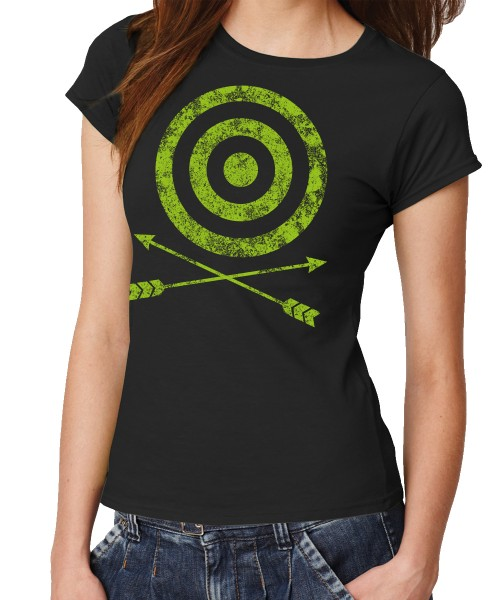-- Crossed Arrows – inspired by Arrow -- Girls T-Shirt