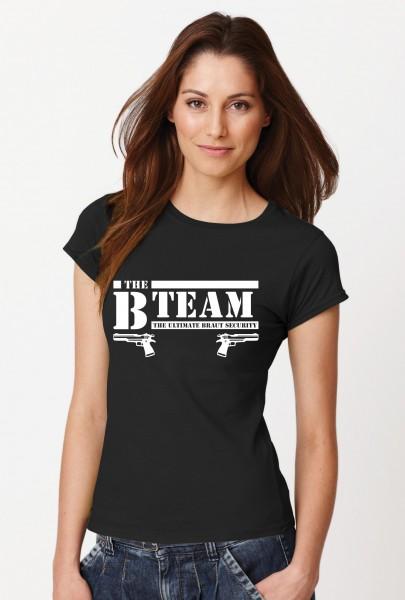 ::: B-TEAM PISTOLE & BRAUT ::: Kombi T-Shirts JGA, Damen