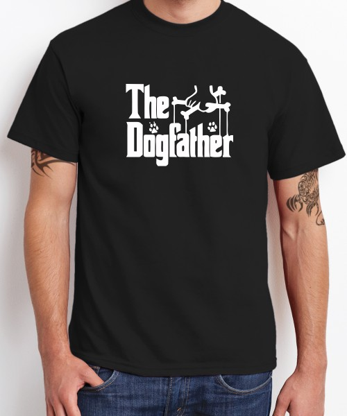 -- The Dogfather -- Boys T-Shirt