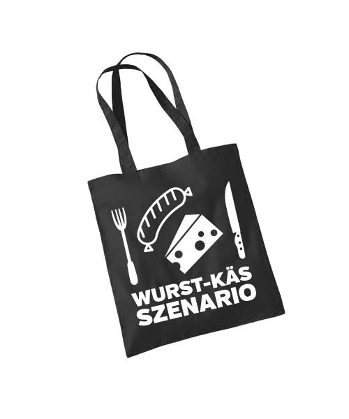 -- Wurst-Käs-Szenario -- Baumwolltasche