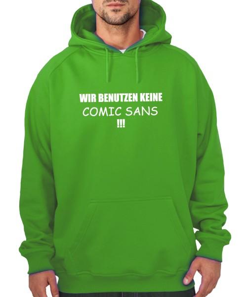 -- Comic Sans -- Boys Kapuzenpullover