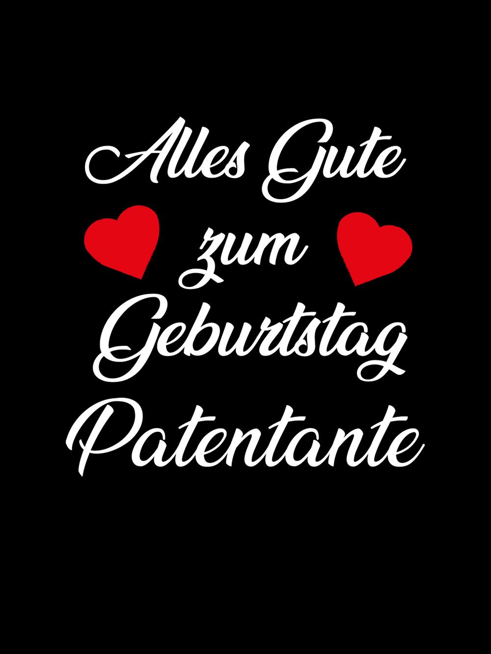 Clothinx Alles Gute Zum Namemstag Patentante Baby Body Bio Schwarz Gr 50 56