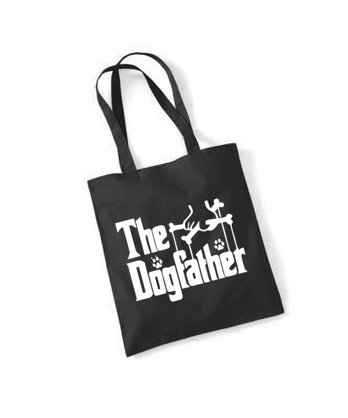 -- The Dogfather -- Baumwolltasche