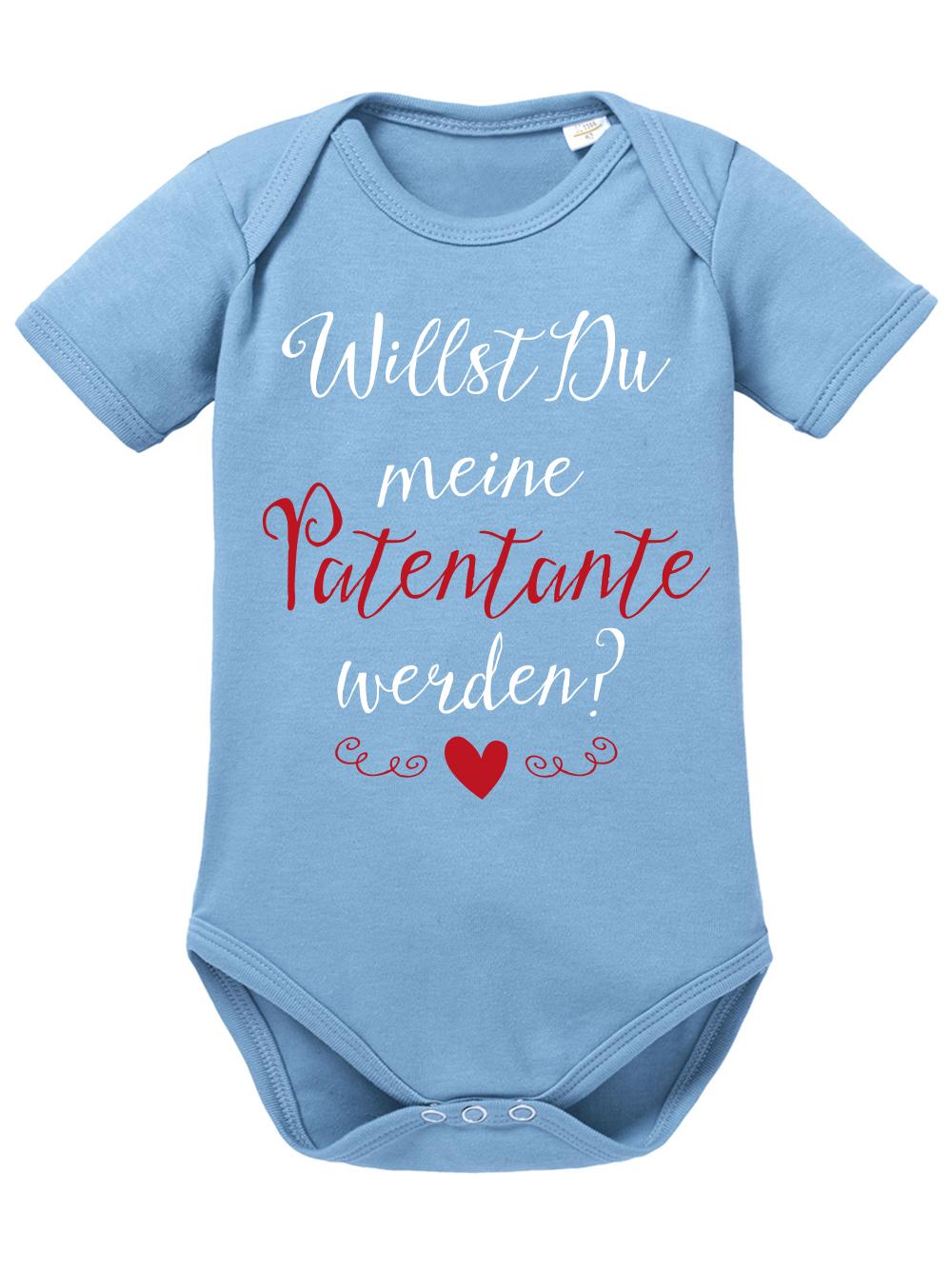 Willst Du Meine Patentante Werden Baby Body Bio