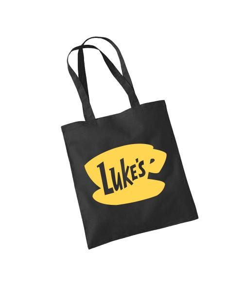 -- Luke's Coffee -- Baumwolltasche