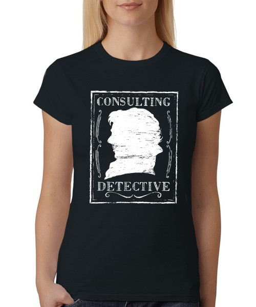 -- Consulting Detective -- Girls T-Shirt