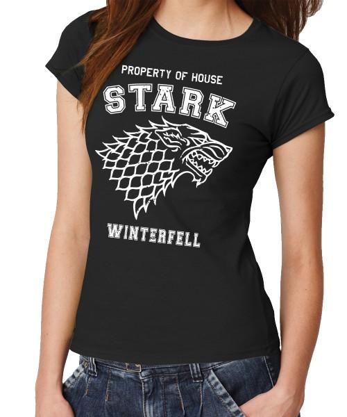 -- Property of House Stark -- Girls T-Shirt