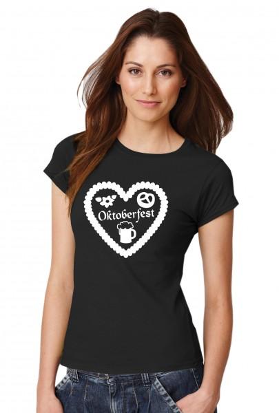 ::: OKTOBERFEST ::: Grafikdesign T-Shirt made with Love ::: Damen