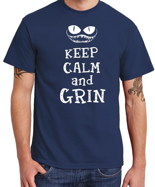 -- Keep Calm and Grin -- Boys T-Shirt