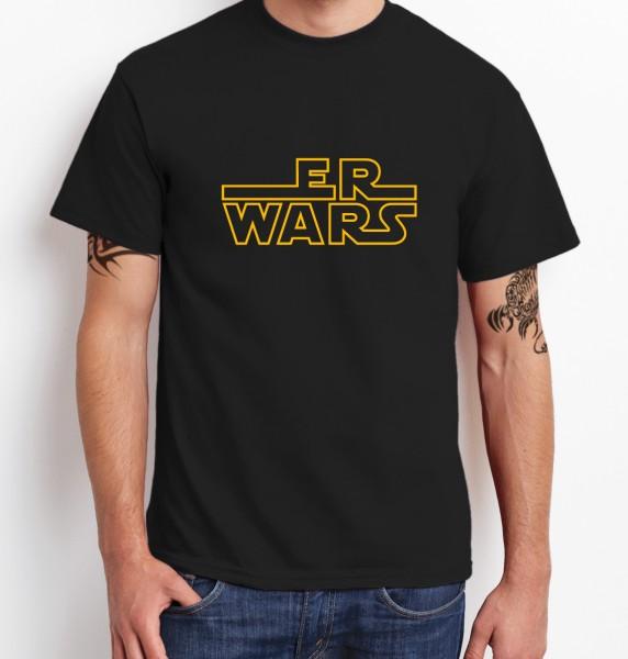 ::: ER WARS ::: Grafikdesign Shirt made with Love ::: Herren
