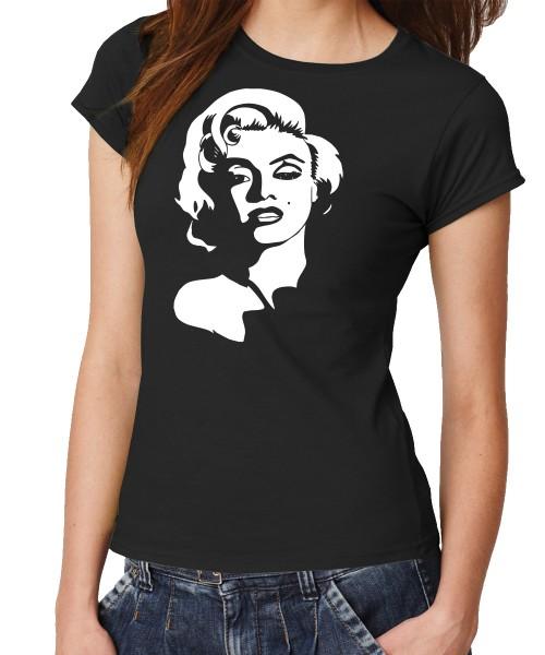 -- Marilyn Face -- Girls T-Shirt