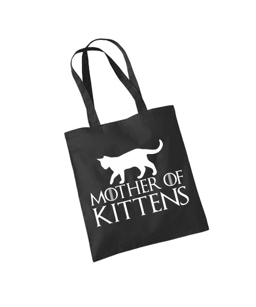 -- Mother of Kittens -- Baumwolltasche