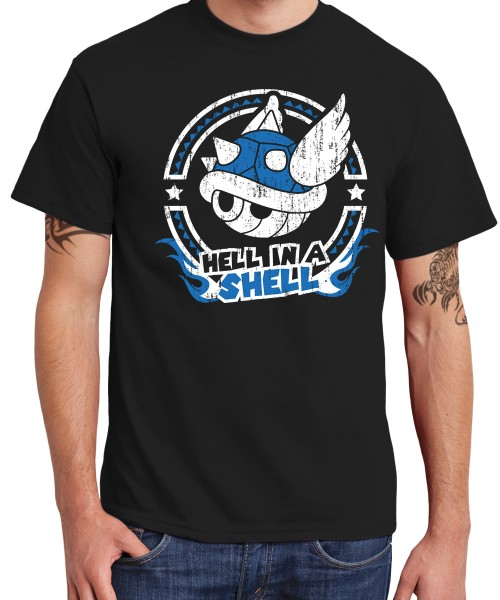 -- Hell In A Shell -- Boys T-Shirt