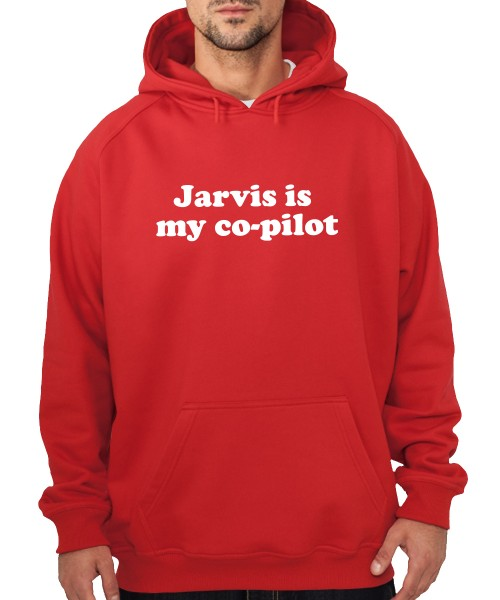 -- Jarvis is my Co-Pilot -- Boys Kapuzenpullover