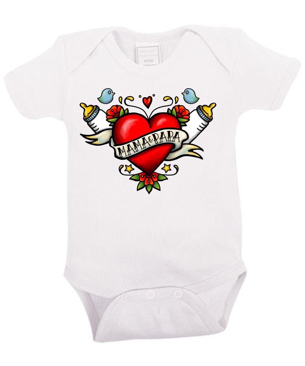 Geräumig Tattoo Sprüche Mama Das Beste Von ::: Und Papa ::: Babybody | Clothinx