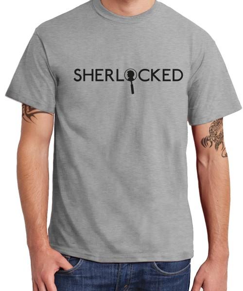 -- Sherlock Profile -- Boys T-Shirt