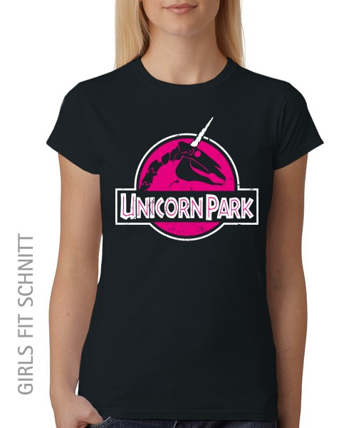 -- Unicorn Park -- Girls T-Shirt auch im Unisex Schnitt