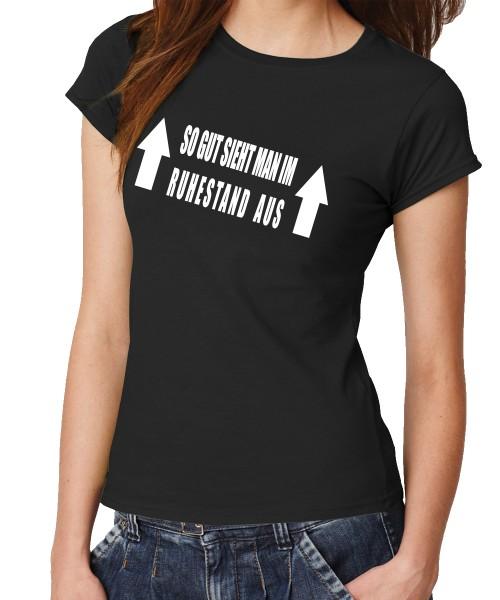 -- So gut sieht man im Ruhestand aus -- Girls T-Shirt