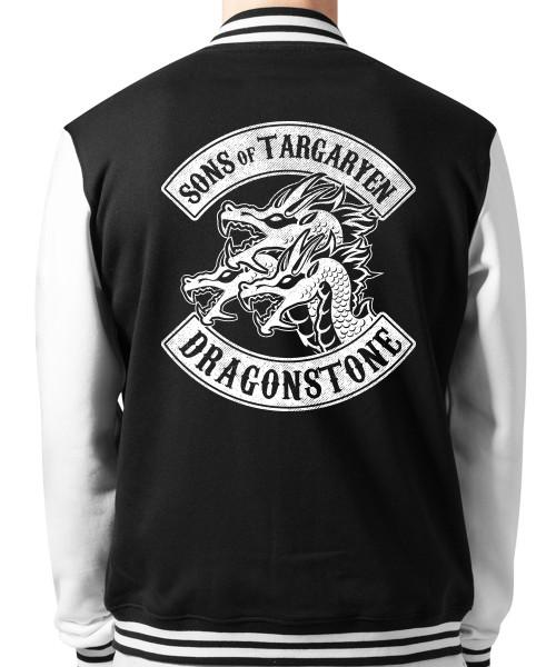 -- Sons of Targaryen -- Unisex College Jacke