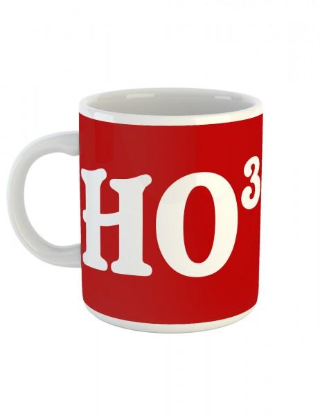 clothinx Kaffeetasse mit Aufdruck HO HO HO Weihnachten