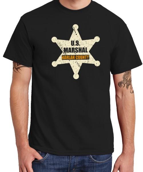 -- Harlan County Marshal -- Boys T-Shirt
