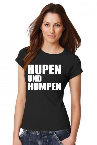 ::: HUPEN UND HUMPEN ::: Grafikdesign T-Shirt made with Love ::: Damen