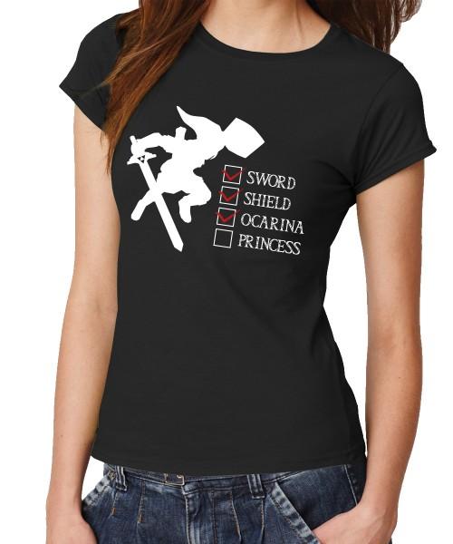 -- my Adventure Checklist... -- Girls T-Shirt