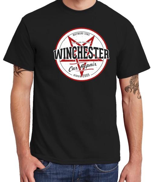 -- Winchester Car Repair -- Boys T-Shirt