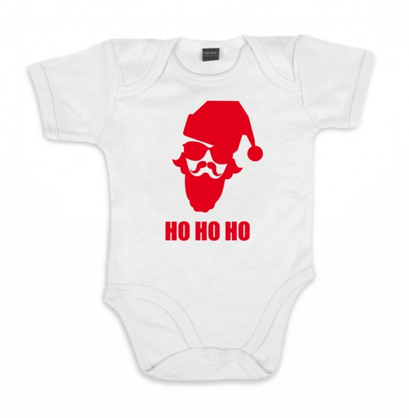 ::: HO HO HO ::: Baby Body für Mädchen & Jungen