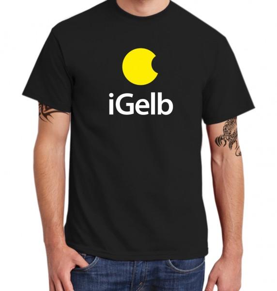::: iGELB ::: Grafikdesign Shirt made with Love ::: Herren
