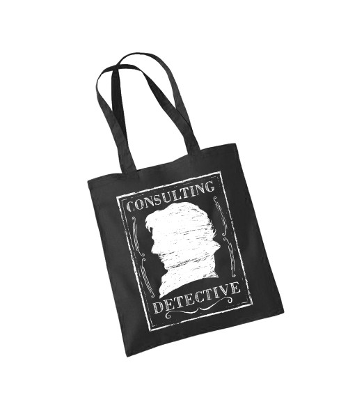 -- Consulting Detective -- Baumwolltasche