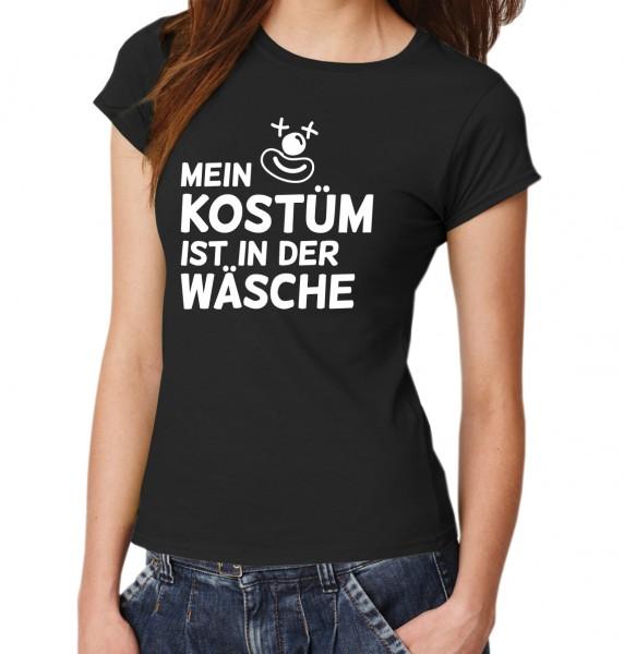 ::: MEIN KOSTÜM IST IN DER WÄSCHE ::: T-Shirt Damen