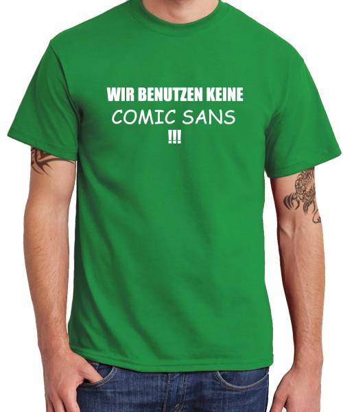 -- Comic Sans -- Boys T-Shirt