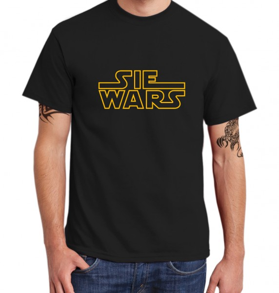 ::: SIE WARS ::: Grafikdesign Shirt made with Love ::: Herren