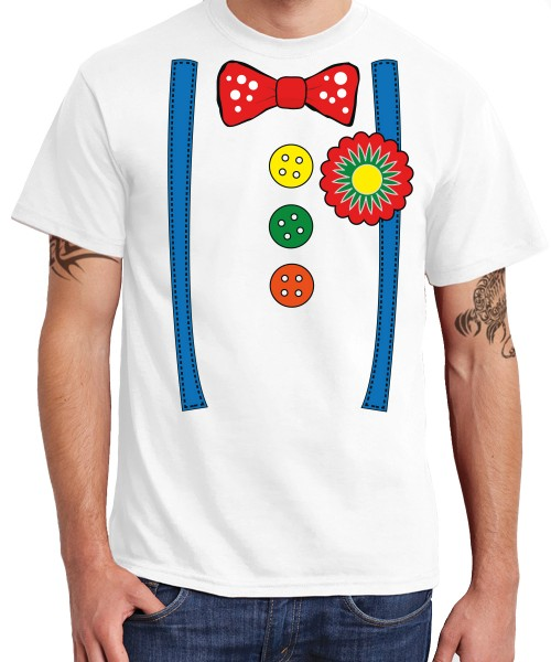 -- Clownskostüm -- Boys T-Shirt