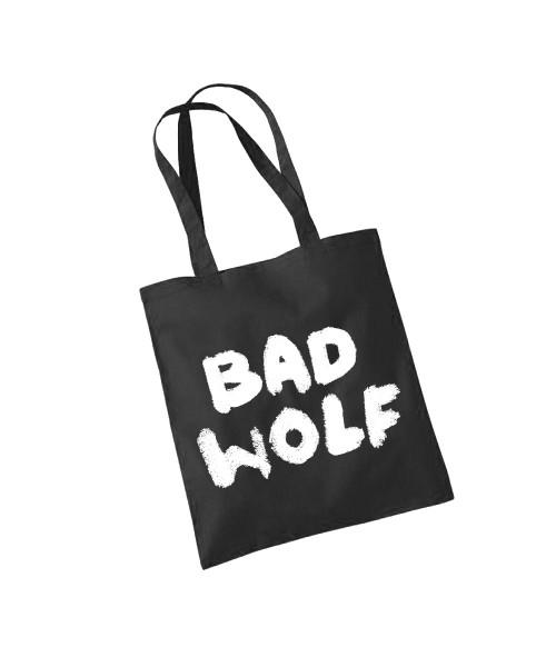 -- BAD WOLF -- Baumwolltasche