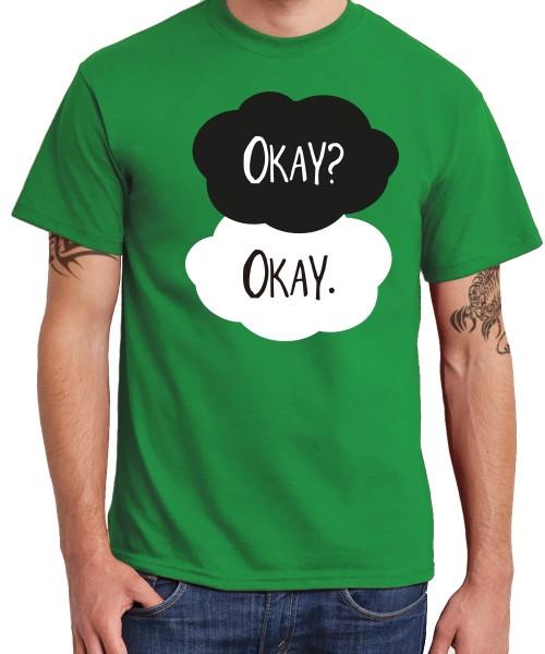 -- TFIOS – Okay? -- Boys T-Shirt