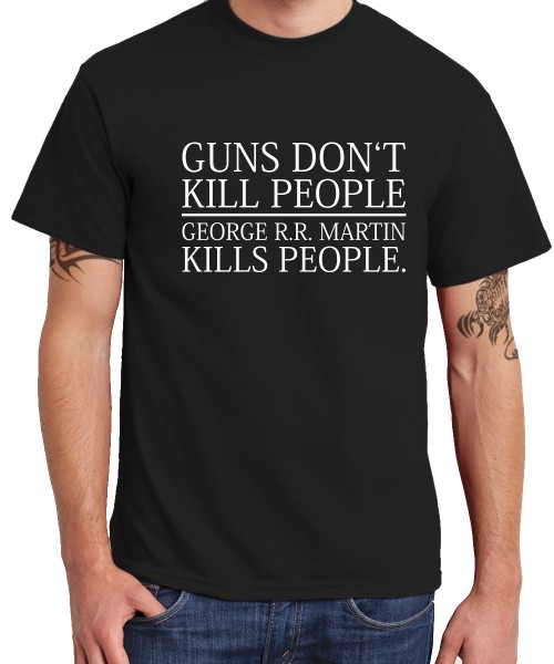-- George Kills People -- Boys T-Shirt
